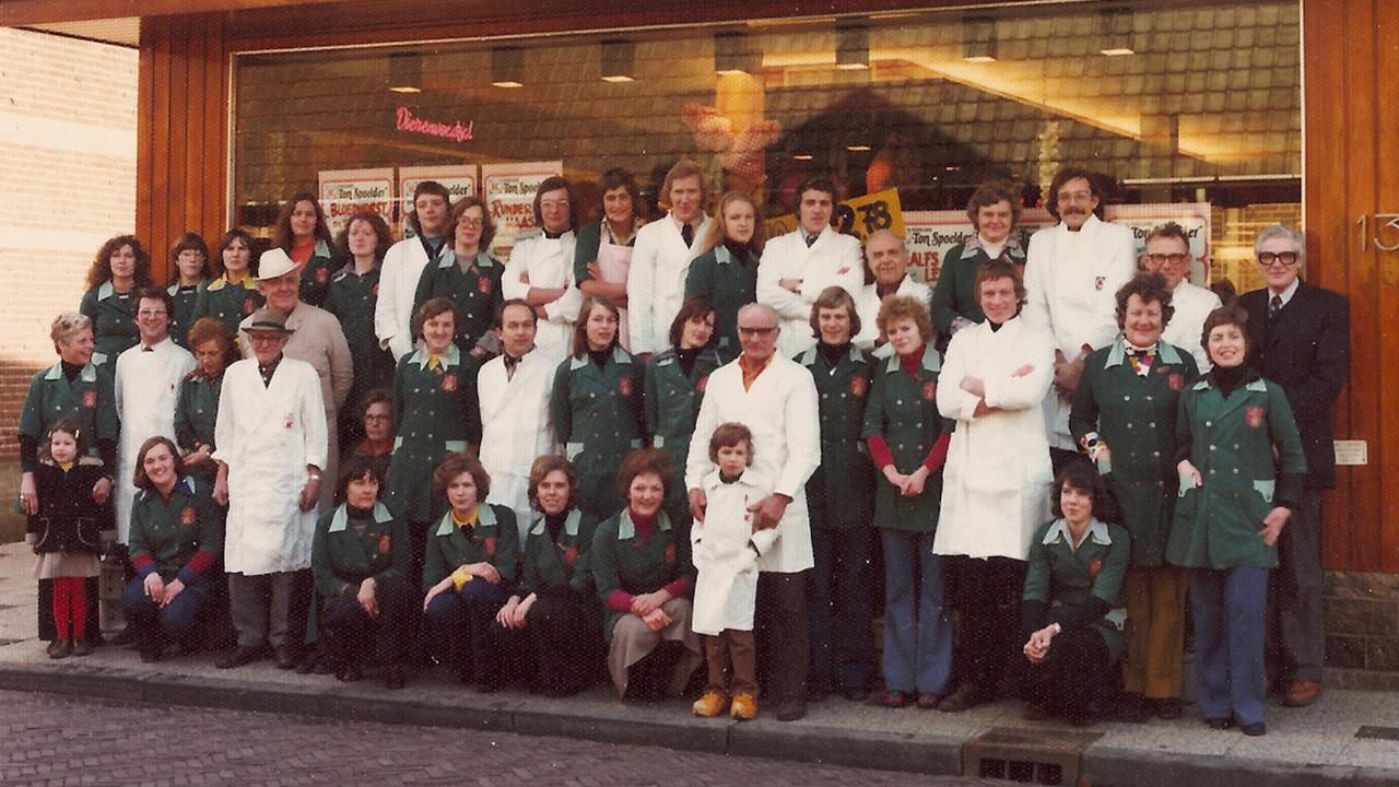 Historie Slagerij Spoelder in 1972