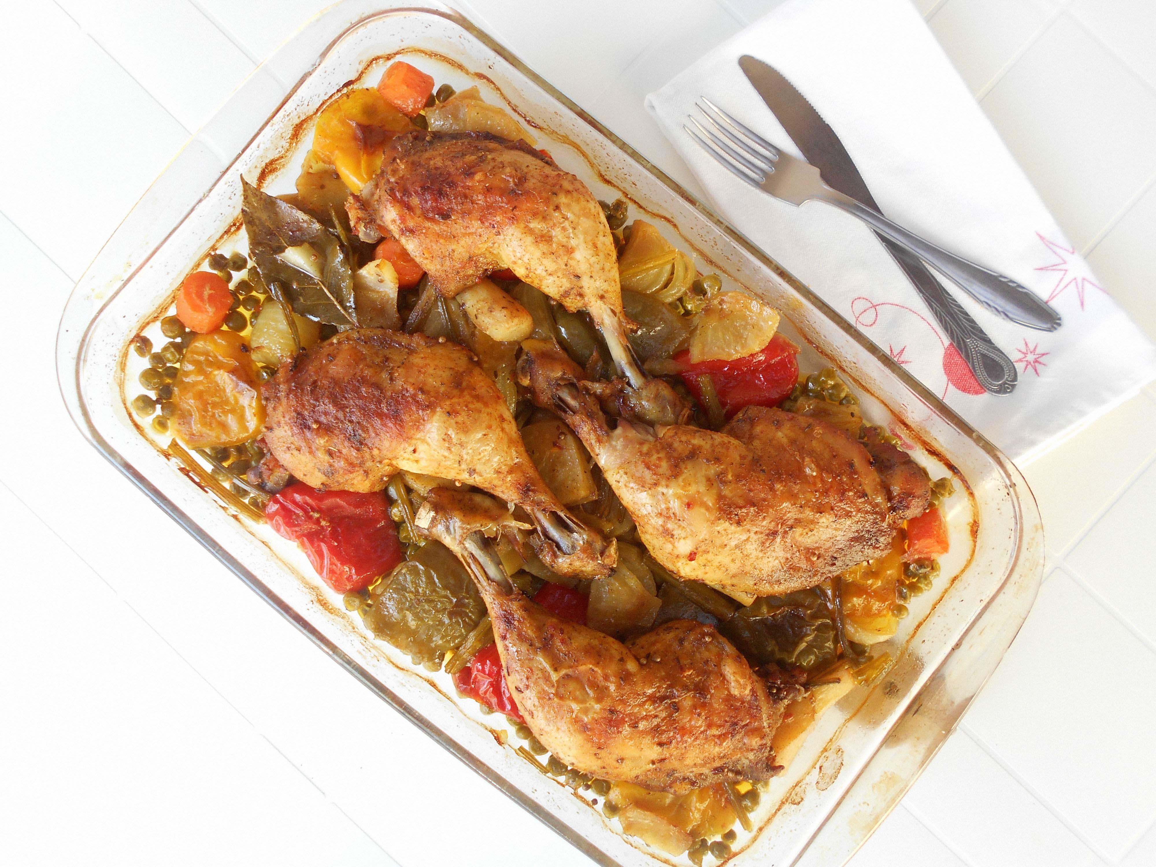 recept kippenbout uit de oven