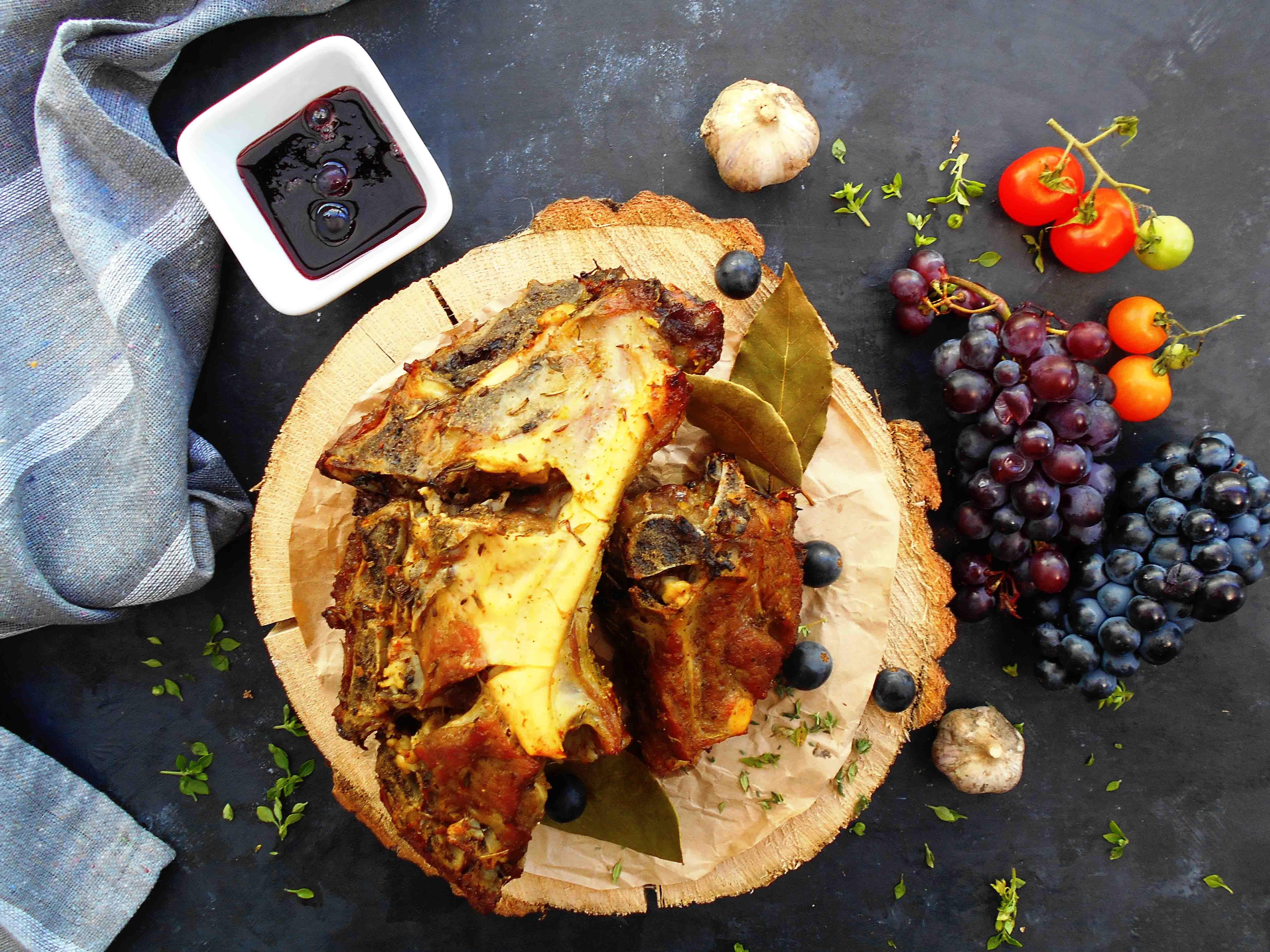 lamsrack-druiven-recept